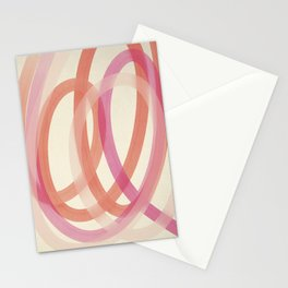 Valentine #1 - Abstract Art Print Stationery Cards
