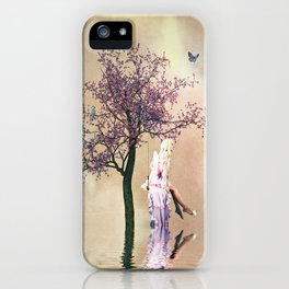 Blossom angel iPhone Case