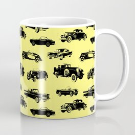 Classic Cars // Yellow Coffee Mug