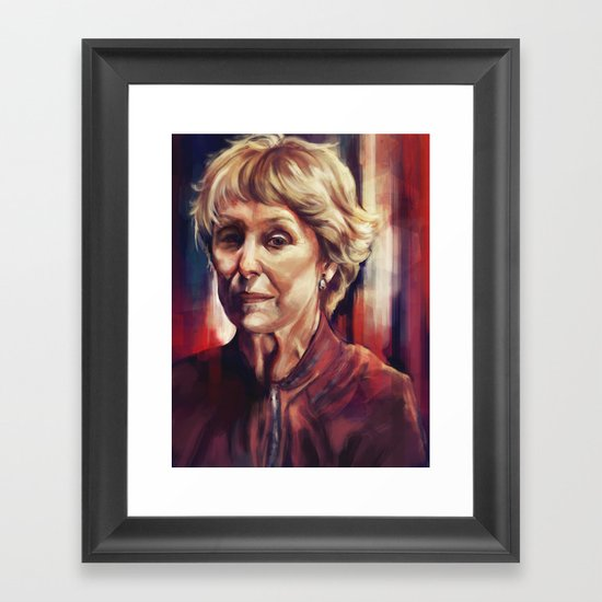 Mrs. Hudson Framed Art Print