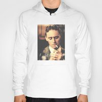 fitzgerald Hoodies featuring F. Scott Fitzgerald by Earl of Grey