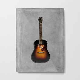 Original Jumbo Acoustic Guitar 1934 Metal Print