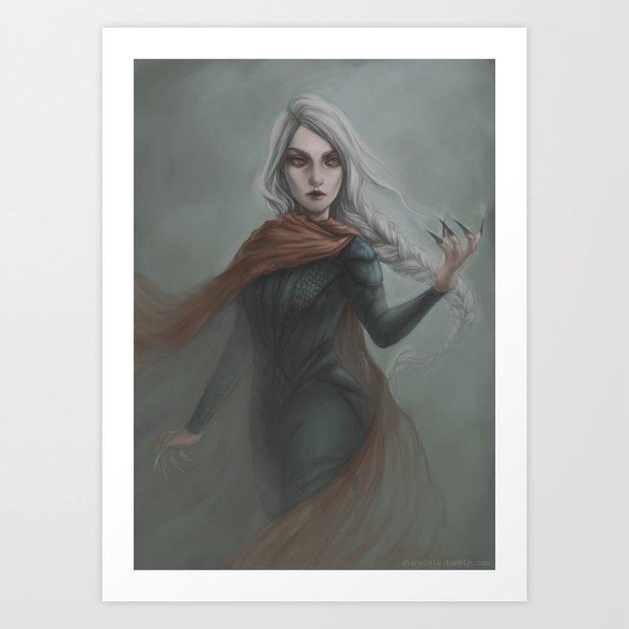 Manon Art Print