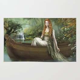 Lady of the Rhine Rug