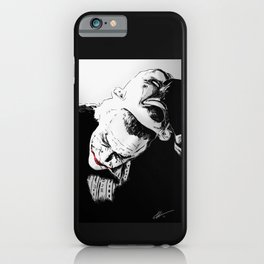 Man Behind The Mask iPhone Case