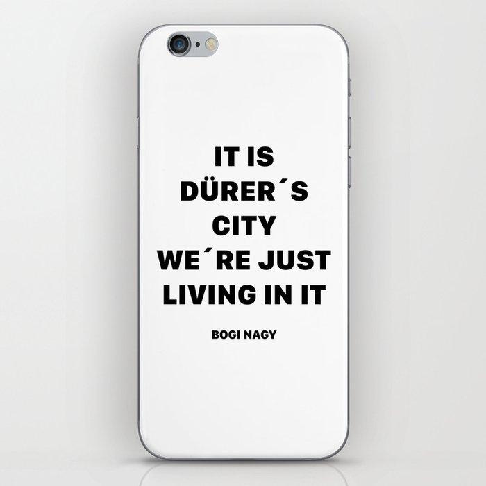 DÜRER´S CITY iPhone Skin