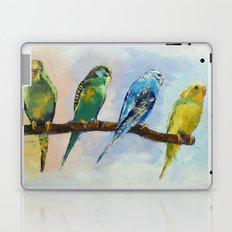 Four Parakeets Laptop & iPad Skin
