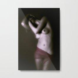 nude Metal Print