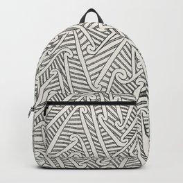 Maori Pattern Backpack