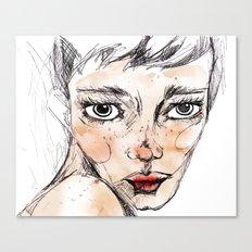 Sara Dane Canvas Print