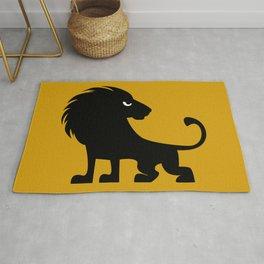 Angry Animals - lion Rug