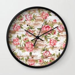 Eco Love Pattern Wall Clock