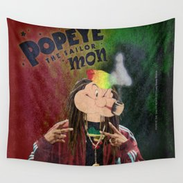 POPEYE THE SAILOR MON - 018 Wall Tapestry