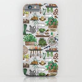 Irish Garden Wall iPhone Case