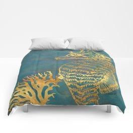 Deep Sea Life Seahorse Comforters