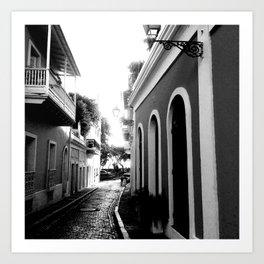 puerto rico alley  Art Print
