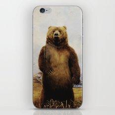 Beary Scared iPhone & iPod Skin
