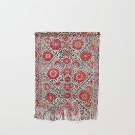 Kermina Suzani Uzbekistan Embroidery Print Wall Hanging