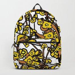 Golden Audrey Floral Backpack