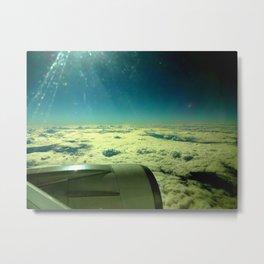 Sunshine in the blue sky Metal Print