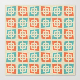 Mid Century Modern Abstract Pattern 820 Canvas Print