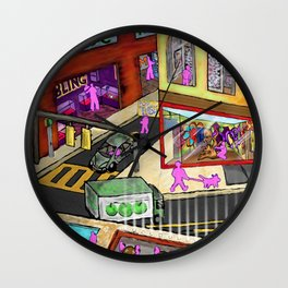 My Dream World Wall Clock