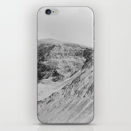 Snowy Welsh Mountains 2 iPhone Skin