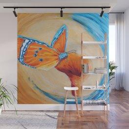 Sweet wonder aqua | Douce merveille aqua Wall Mural