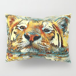 AnimalArt_Tiger_20170601_by_JAMColorsSpecial Pillow Sham