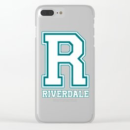 Riverdale R Clear iPhone Case
