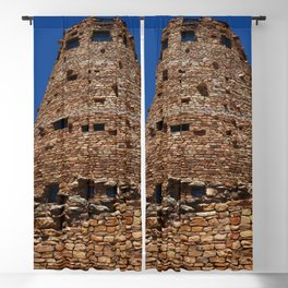 Desert View Watchtower - South Rim Grand Canyon Blackout Curtain