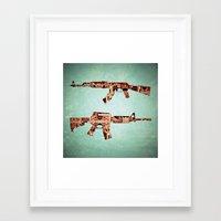 camouflage Framed Art Prints featuring camouflage by Steve W Schwartz Art