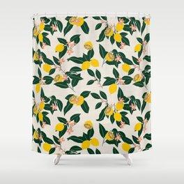 LEMONNY Shower Curtain