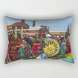 Day at the Steam Up Rectangular Pillow