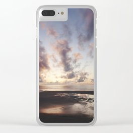 Sunrise over the Beach Clear iPhone Case