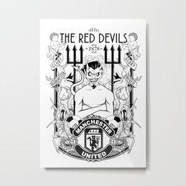 The Red Devil Metal Print