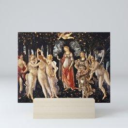 Sandro Botticelli - La Primavera , Spring Mini Art Print