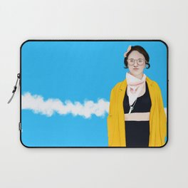 Lauren (trace drawing) Laptop Sleeve