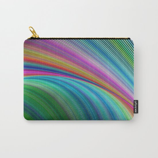 Colorful distortion Carry-All Pouch