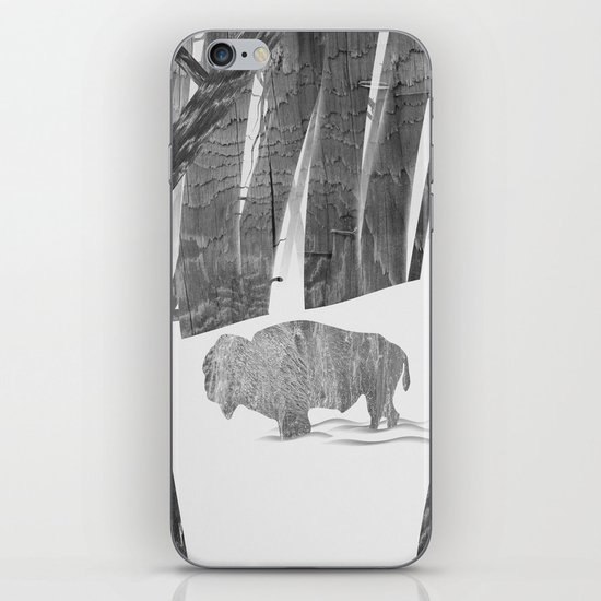 Martwood Bison iPhone & iPod Skin