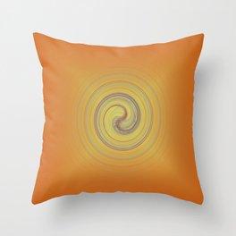 Energy upload Throw Pillow