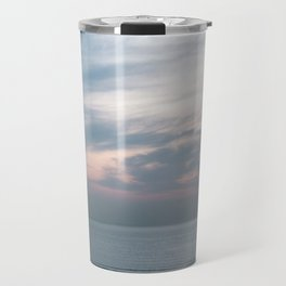 Pastel sky above the sea | Soft clouds at sunset | Fine art travel photography Travel Mug