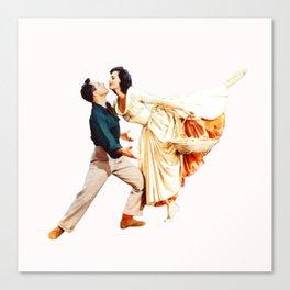 Gene Kelly and Cyd Charisse - Brigadoon Canvas Print
