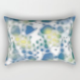 Impression of glimpses of light Rectangular Pillow
