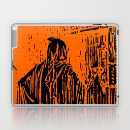 The Ghost at the Door Laptop & iPad Skin
