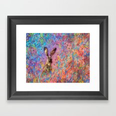 Aura of the Jackrabbit Framed Art Print