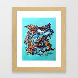 PHISHING by Steve Fogle Framed Art Print