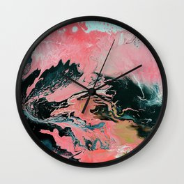 Coral Overture Wall Clock