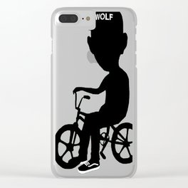 Tyler the Creator- Wolf Hayley Clear iPhone Case