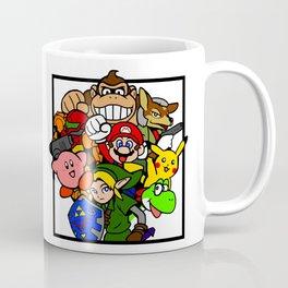 Super Smash 64 Roster Coffee Mug